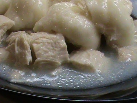Country Style Chicken and Dumplings
