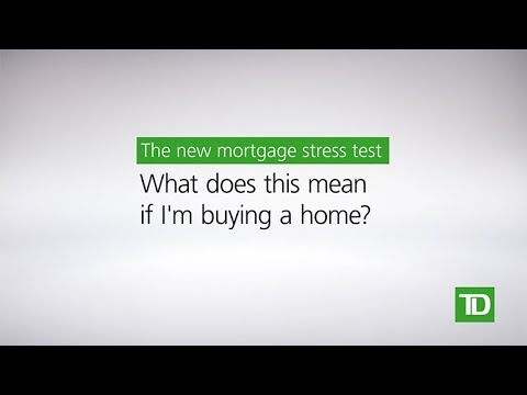 TD –New Mortgage Rules: Buying A Home