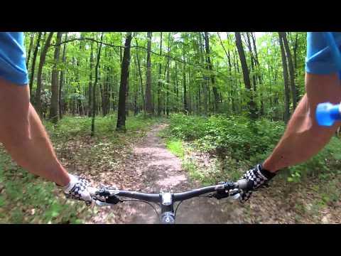 Coopers Rock West Virginia Mountain Biking 6.24.12 1080HD