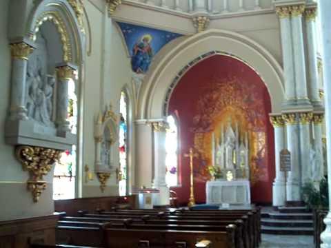 St Josephs Catholic Church Ga Video Macon Georgia Inside