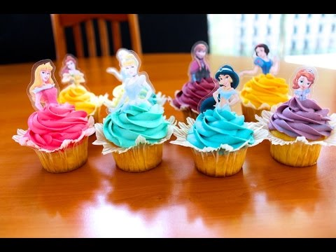 Pixie Makes Princess Cupcakes