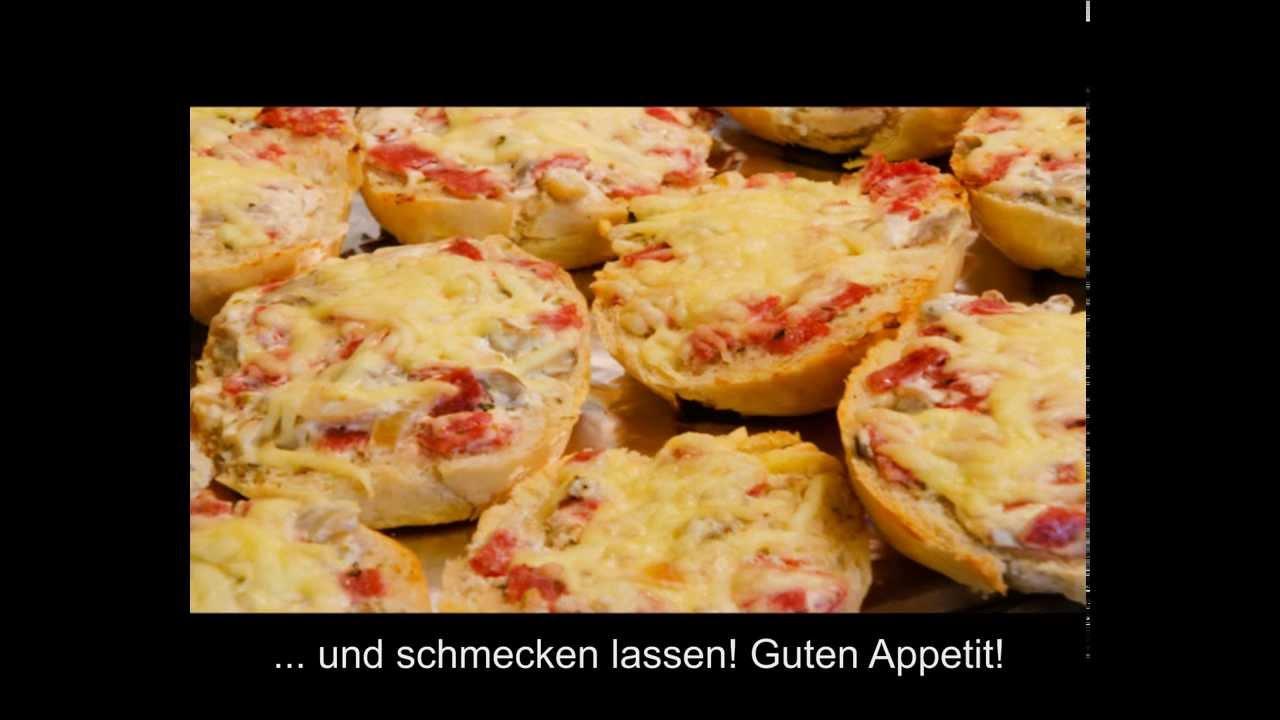 Pizzabrötchen sel...