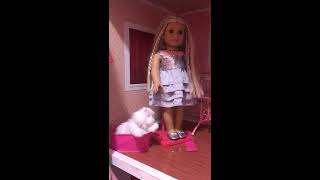 TOOTIE KAYE !!!!!! 1st Video!!!!!!! American Girl doll collection