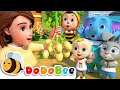 One Potato, Two Potatoes | Learn Numbers for Babys | Nursery Rhymes & Kids Songs