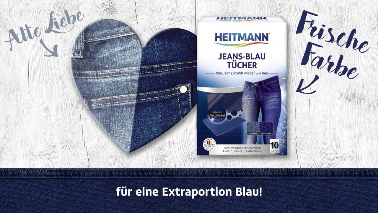 jeans einfärben blau