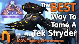ARK STRYDER Genesis 2 H๐w To TAME A TEK STRYDER! #ARK