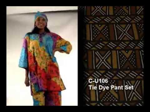 Africa Imports | Tie Dye Pant Suit