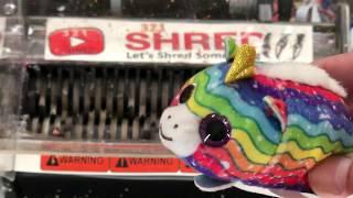 Shredding Stuffed Animal