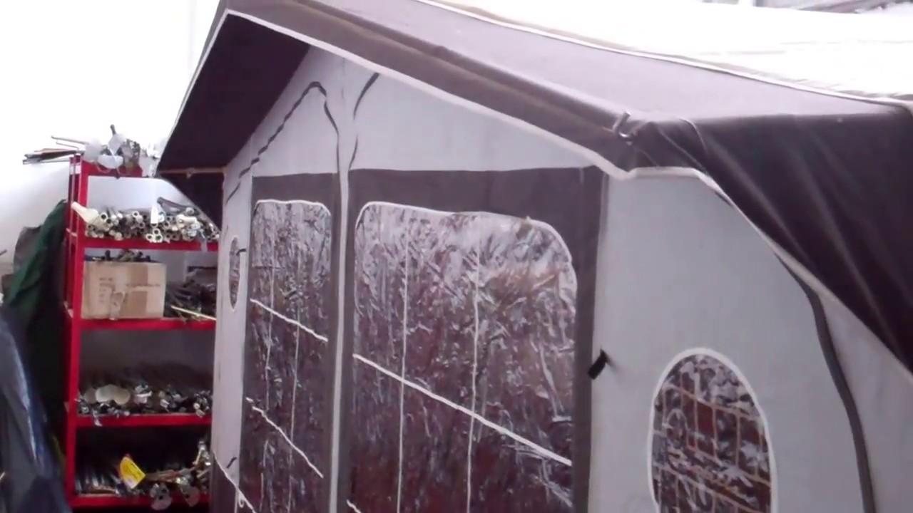 Used Isabella Ambassador 2500 caravan awning 875cm - YouTube