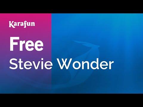 Karaoke Free - Stevie Wonder *