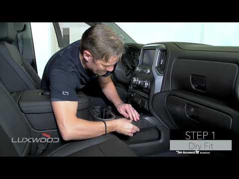GMC Sierra 2019 - Interior Dash Trim Kit - Luxwood