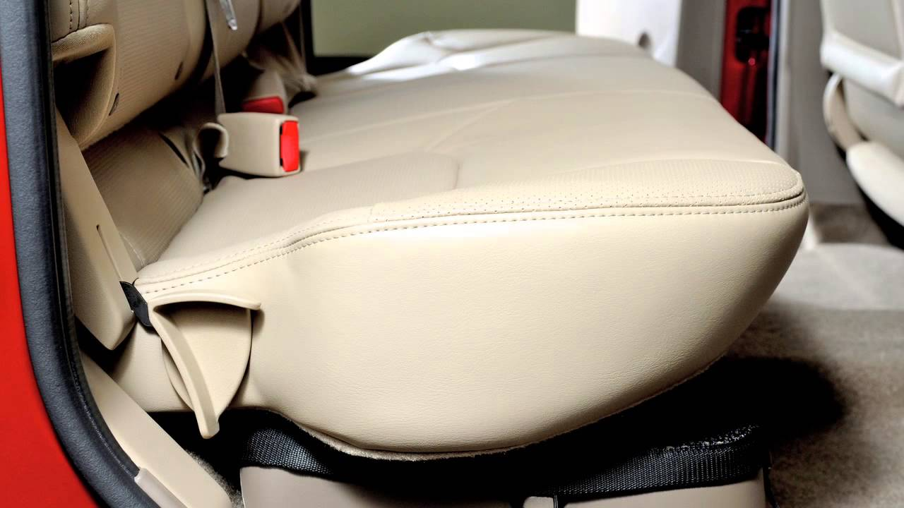 2012 Nissan Frontier Folding The Rear Bench Jump Seats
