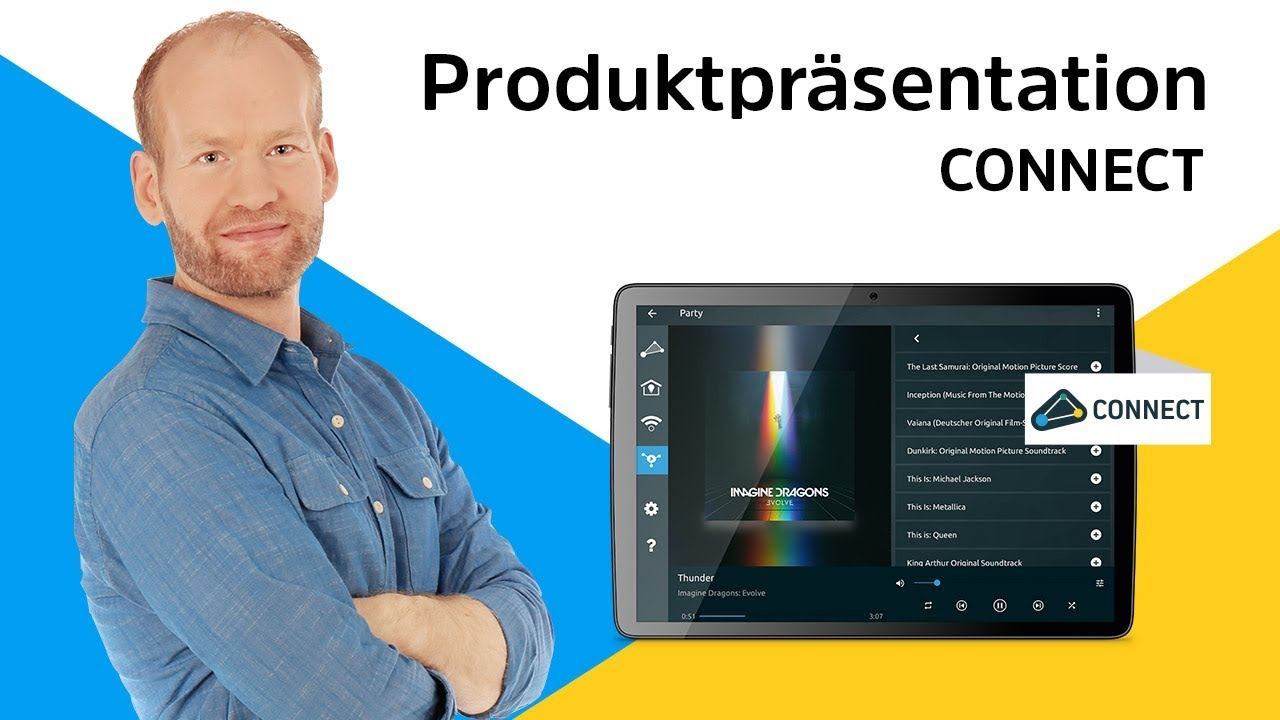 Video: CONNECT | Ihr digitales Zuhause perfekt einfach bedienbar. | TechniSat