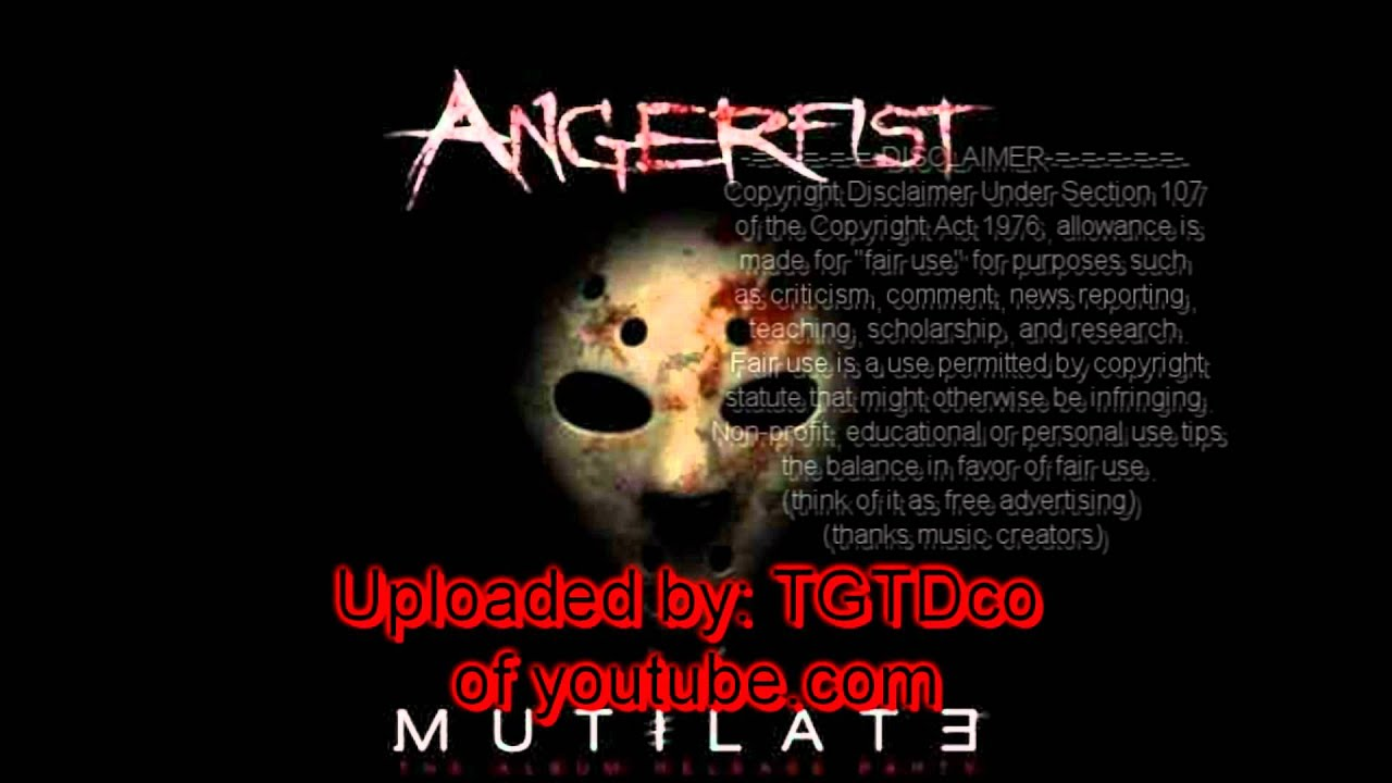 Angerfist - The Depths of Despair (Official Masters of ...