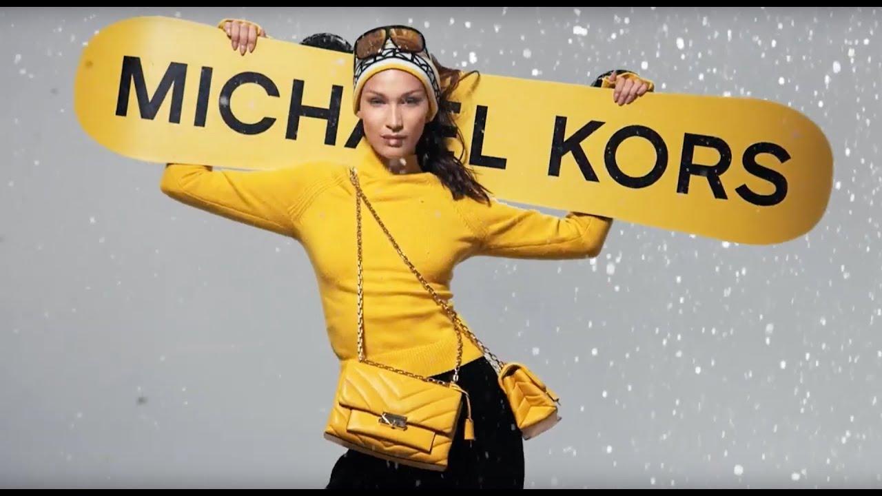 Bella Hadid MICHAEL Michael Kors Holiday '19 Campaign