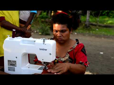 Brother & Cool Earth - Papua New Guinea Sewing Machine Donation