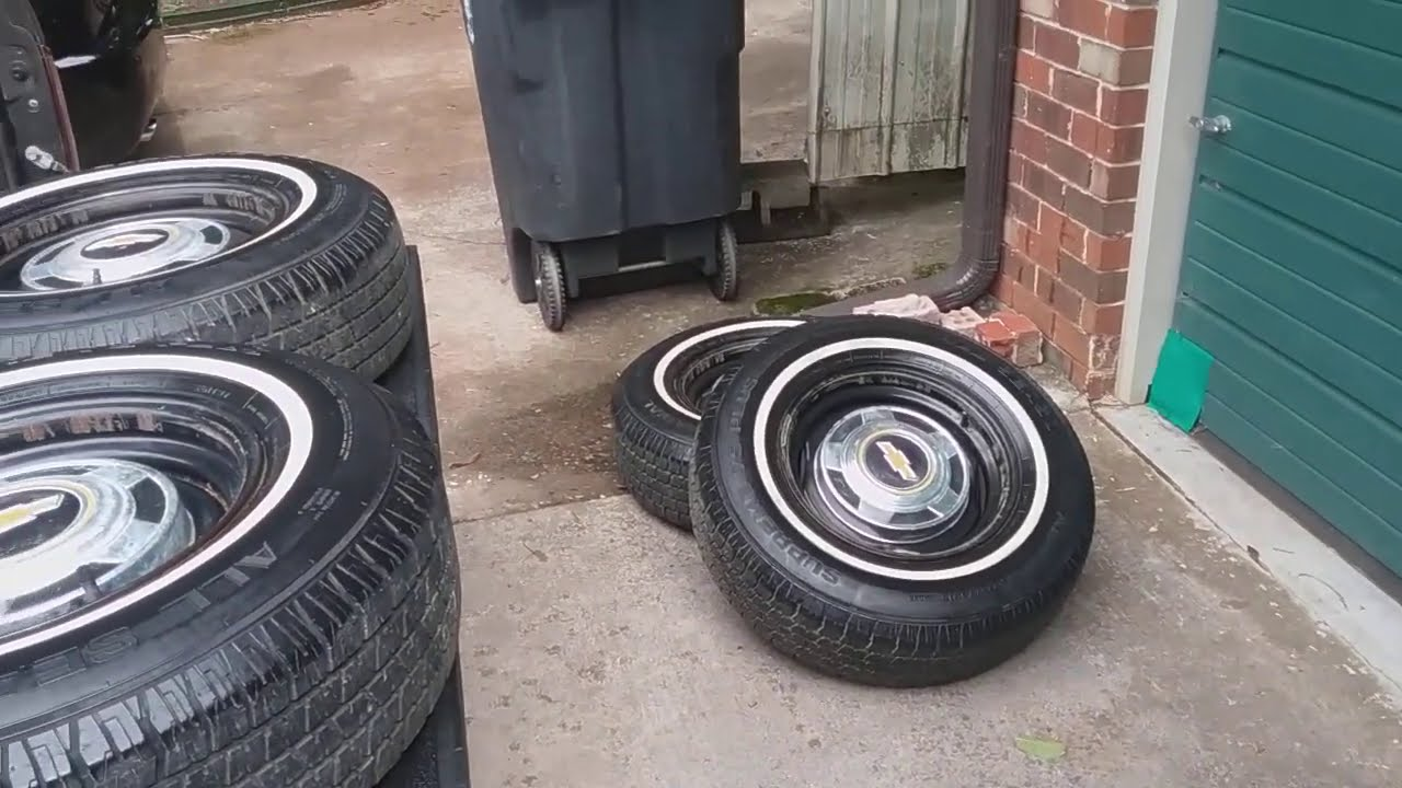 I bought a set of Wheels, Tires, and Center Caps for a Chevy C10 truck from my really good friend!