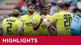 Highlights FC Emmen - AZ | Eredivisie