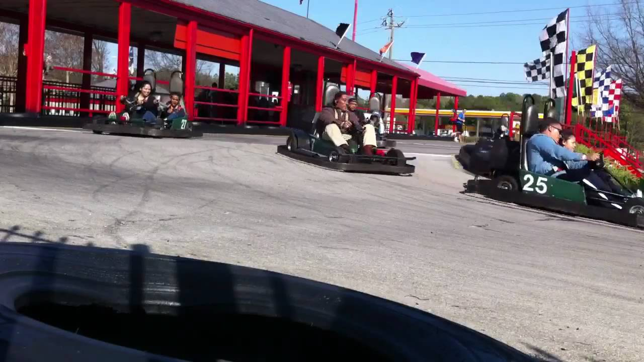 Adventure Landing Go Karts Youtube
