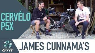 James Cunnama's Cervélo P5X Pro Triathlon Bike