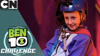 Ben 10 Challenge | Becoming Stinkfly | Cartoon Network