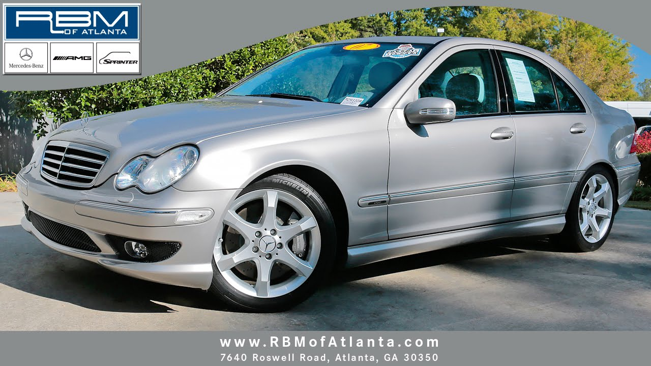 2007 mercedes benz c class c350 atlanta ga m29330a sold youtube. Black Bedroom Furniture Sets. Home Design Ideas