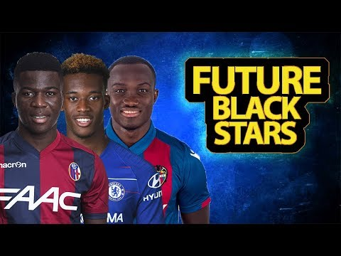 Six Young Ghanaian Players Who Will Make Black Stars Great Again