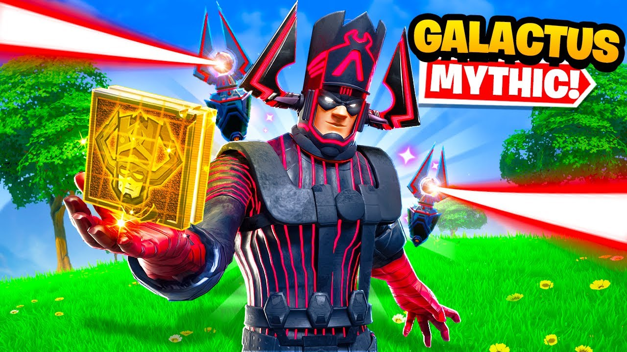 The Boss Galactus Mythic Only Challenge in Fortnite