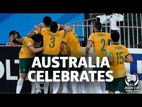 Australia Celebrates!!! AFC Asian Cup Australia 2015