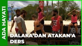 Dalaka, Atakan'a Yarışı Öğretiyor - Survivor 60. Bölüm