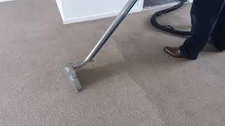 Heavily soiled carpet cleaning by 5caratsCS Sheffield