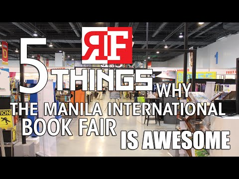 5 Things Why The Manila International Book Fair is Awesome