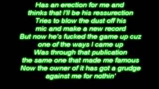Like toy soldier - Eminem lyrics on your screen