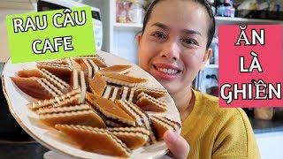 Vlog 234    LÀM RAU CÂU GIÒN CAFE QUÁ NGON VÀ QUÁ ĐƠN GIẢN
