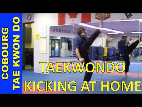 How To Practice Taekwondo Kicking At Home