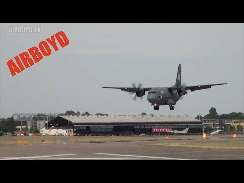 C-27 Spartan Farnborough Airshow (2010)
