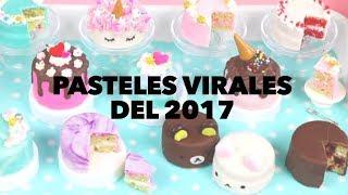 Mini pasteles virales del 2017. EXPECTATIVA/REALIDAD