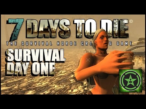 Let's Play – 7 Days to Die: Survival Day One