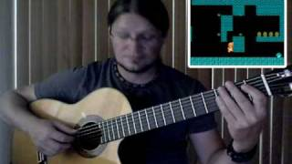 Super Mario Bros. - fingerstyle Guitar