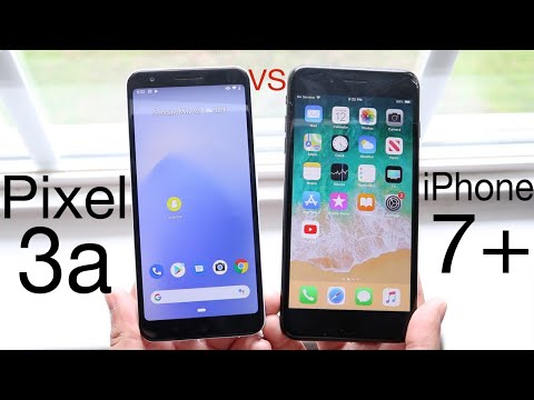 Google Pixel 3a Vs iPhone 7 Plus! (Comparison) (Review)