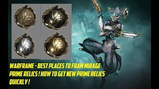 Warframe how to farm neo relics