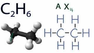 c2h6 molecular geometry shape and bond angles
