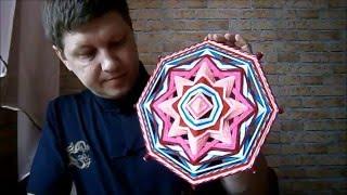 Подарок своими руками. Мандала Любви. Gift with your own hands. Mandala Of Love.(Здравствуйте друзья,сегодня мы сделаем подарок своими руками. Сплетем Мандалу Любви, для наших дорогих..., 2016-02-13T14:35:11.000Z)