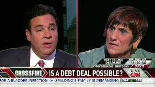 (part 2/3) Crossfire:  Rep. Raul Labrador, Rep. Rosa DeLauro on Shutdown Negotiations Stand Off
