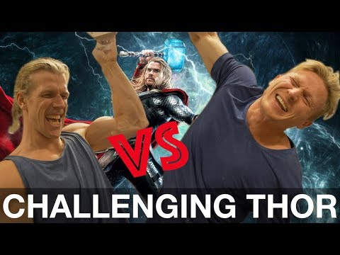 CHALLENGING THOR IN FINGER STRENGTH