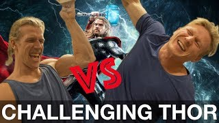 Video CHALLENGING THOR IN FINGER STRENGTH download MP3, 3GP, MP4, WEBM, AVI, FLV Desember 2017