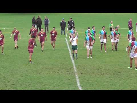 NZ Harlequins U17 vs King Country 2016 2nd half
