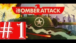 Playing: iBomber Attack - Village (Mission 1) HD