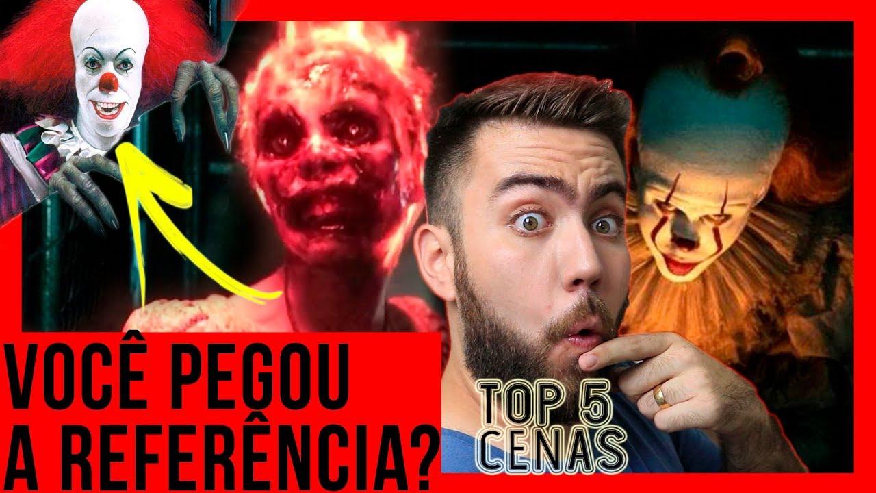 IT 2: AS 5 MELHORES CENAS DO FILME DO PENNYWISE! | COM SPOILERS