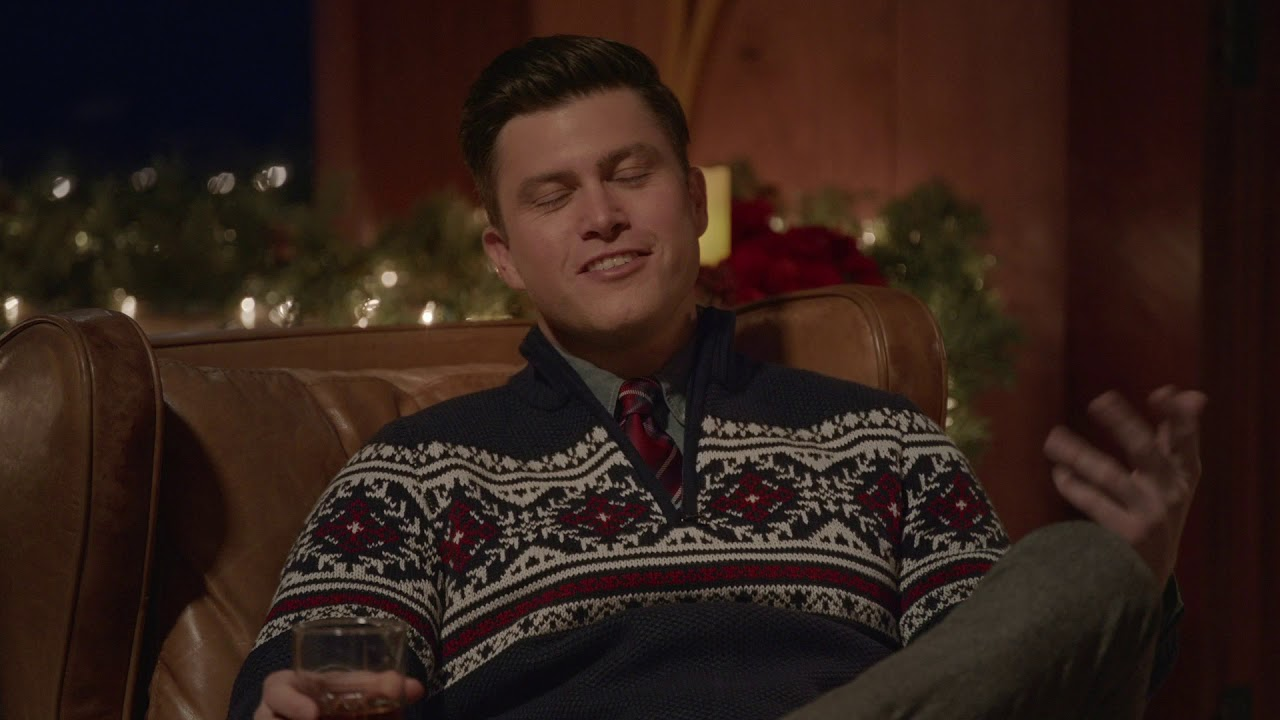 Izod Holiday 2018 Jinx Izod Sweater Featuring Colin Jost Aaron Rodgers Youtube